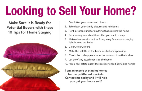 Tips for Home Staging | Selling Your Home | Kathryn Mark Tips For Selling Your Home on staging your home, selling a home, buying your home, unique ways to stage your home,