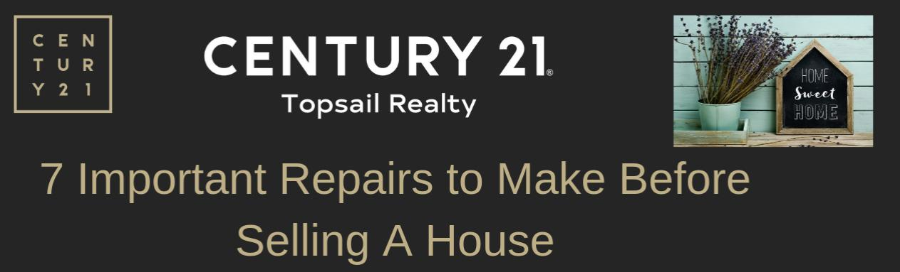 7 Important Repairs to Make Before Selling A House | Seller